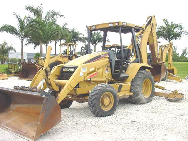 1998 (unverified) Cat 416C Backhoe Loader in West Palm Beach