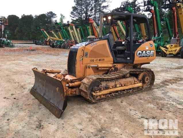 Case 650L Crawler Dozer, Crawler Tractor