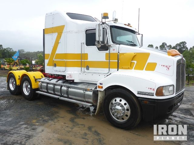 2007 Kenworth T401 6x4 Prime Mover, Truck Tractor (T/A)