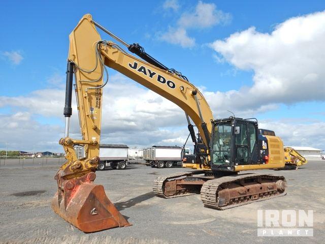 2014 Caterpillar 329E L Hydraulic Excavator, Hydraulic Excavator