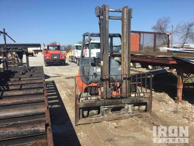 Linde H40D Pneumatic Tire Forklift, Forklift
