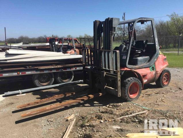 Linde H45D-03 Pneumatic Tire Forklift, Forklift