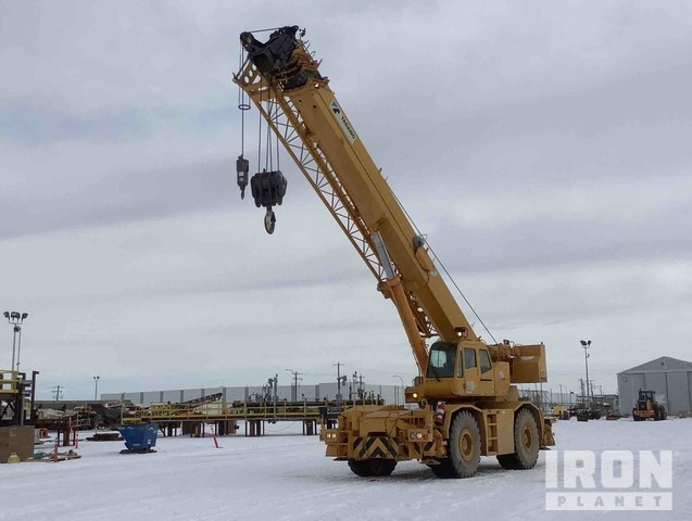 2008 Tadano GR800XL-1 Rough Terrain Crane, Rough Terrain Crane