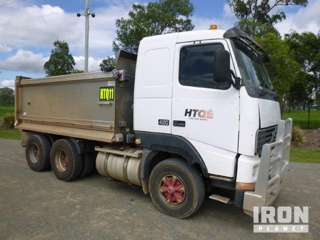 1995 Volvo FH12 6x4 Tipper Truck, Dump Truck (T/A)