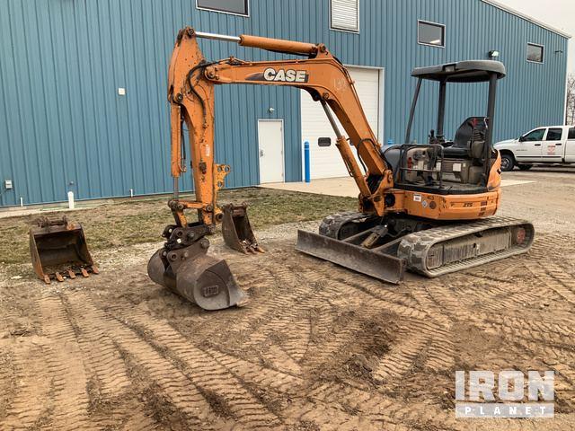 Case CX50B Mini Excavator, Mini Excavator (1 - 4.9 Tons)