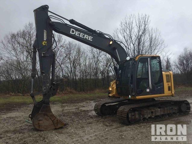 2011 John Deere 135D Track Excavator, Hydraulic Excavator