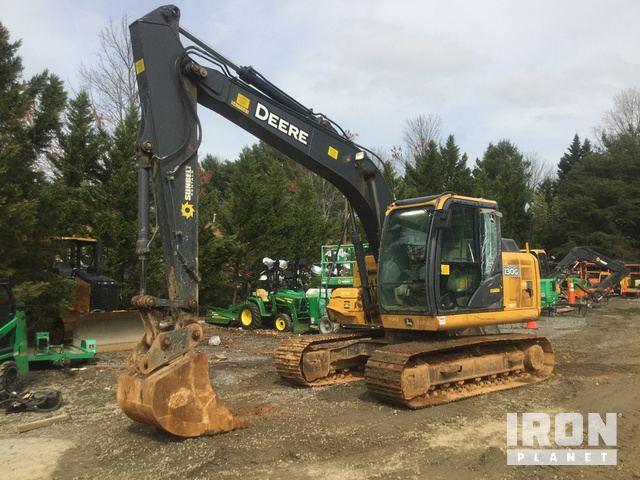 2013 John Deere 130G Track Excavator, Hydraulic Excavator