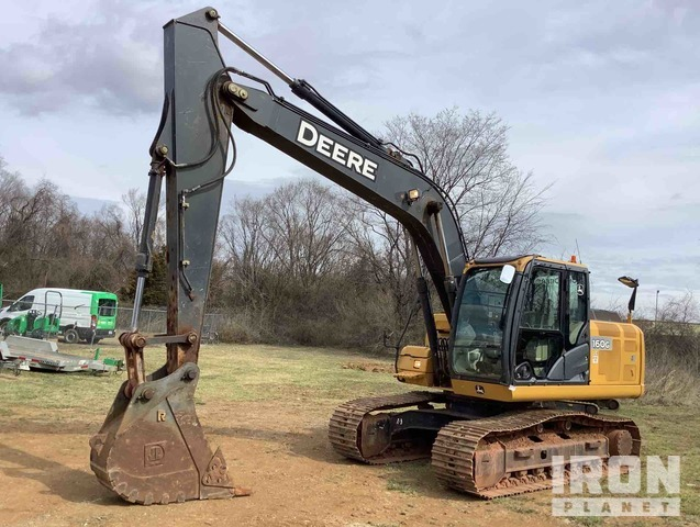 2012 John Deere 160G LC Track Excavator, Hydraulic Excavator