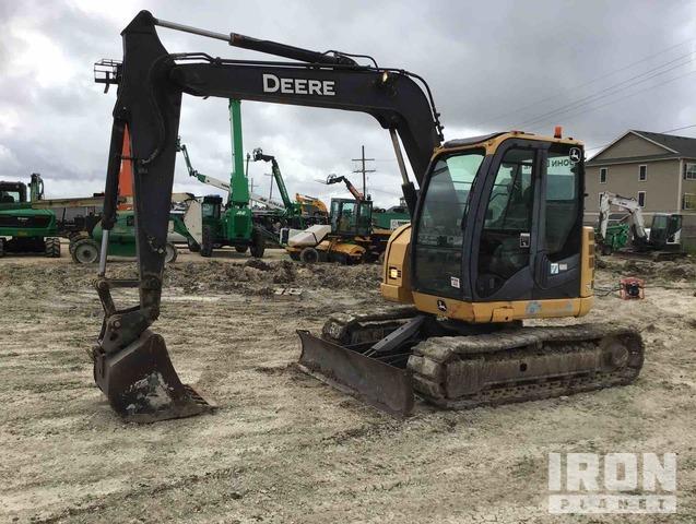 2012 John Deere 75D Track Excavator, Hydraulic Excavator