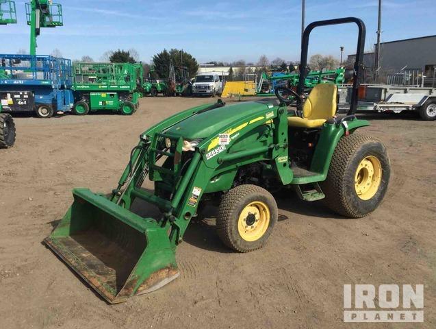 2012 John Deere 3320 4WD Tractor, MFWD Tractor