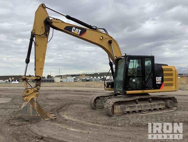2015 Cat 316E L Track Excavator, Hydraulic Excavator
