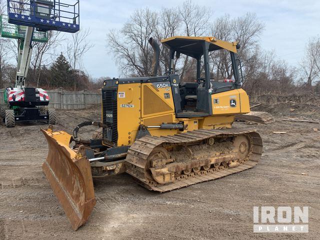 2013 John Deere 650K LGP Crawler Dozer, Crawler Tractor