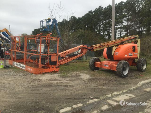 2012 JLG 600AJ 4WD Diesel Articulating Boom Lift, Boom Lift