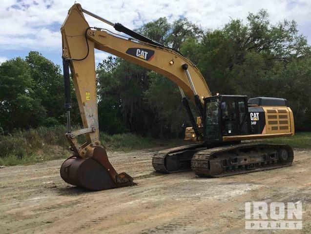 2015 Cat 349F L Track Excavator, Hydraulic Excavator
