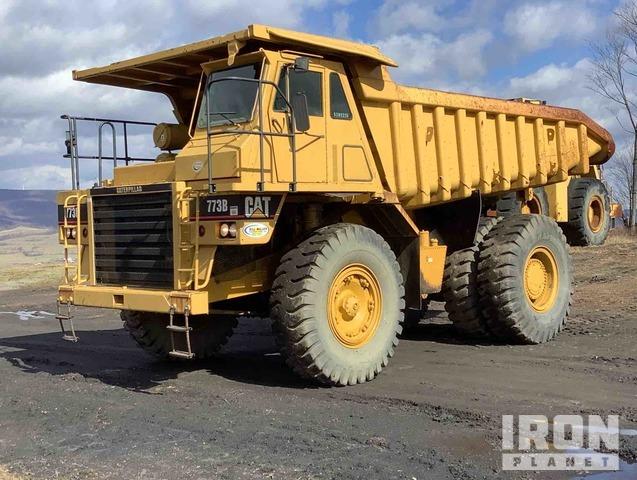 Cat 773B Off-Road End Dump Truck, Rock Truck