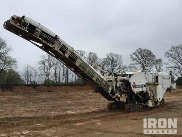 Roadtec RX-500 Tracked Cold Planer, Cold Planer