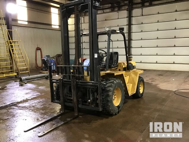 EAGLE PICHER RC60 6,000# Rough Terrain Fork Lift, Rough Terrain Forklift
