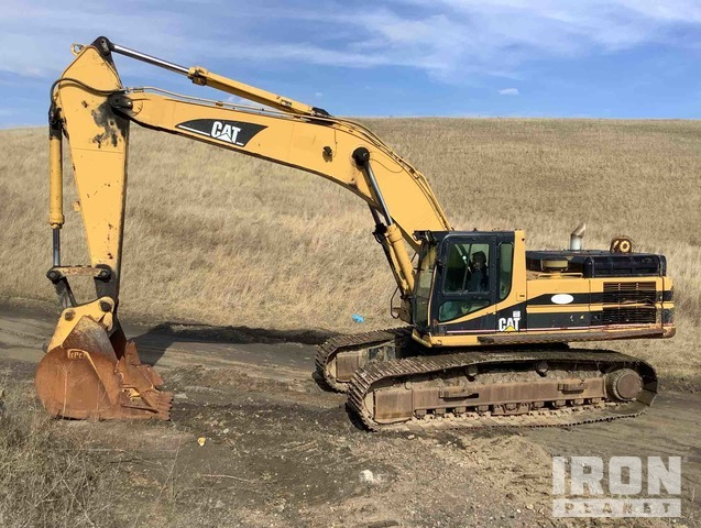Cat 345B Series II Track Excavator, Hydraulic Excavator