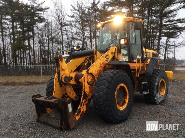 JCB 436ZX Wheel Loader, Wheel Loader