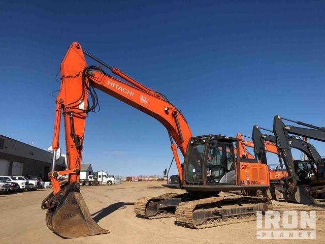 2012 Hitachi ZX250LC-5N Track Excavator, Hydraulic Excavator