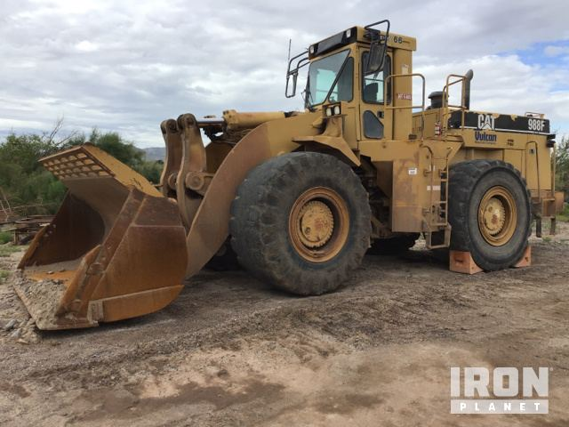 Cat 988F Series II Wheel Loader, Parts/Stationary Construction-Other