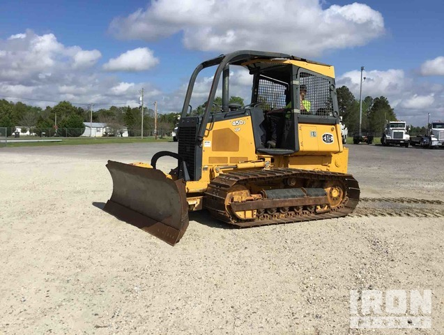 2015 John Deere 450J LGP Crawler Dozer, Crawler Tractor