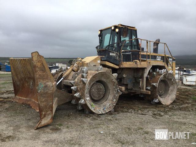 Cat 826G Landfill Compactor, Compactor