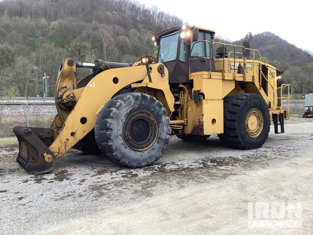 2014 Cat 988K Wheel Loader, Wheel Loader