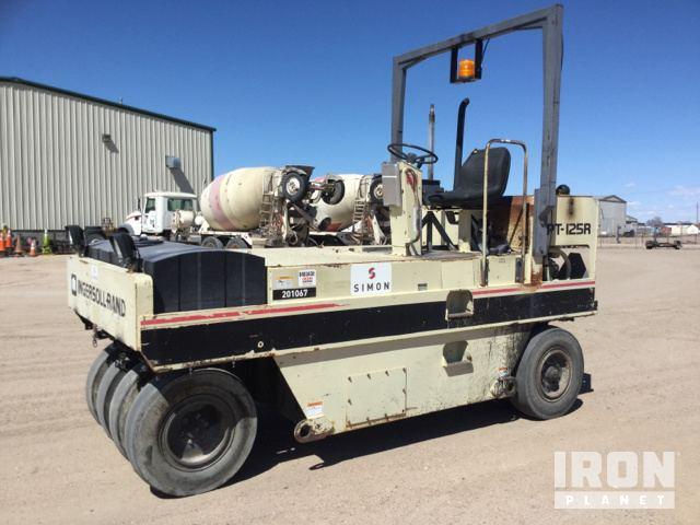 Ingersoll-Rand PT-125R Pneumatic Roller, Roller