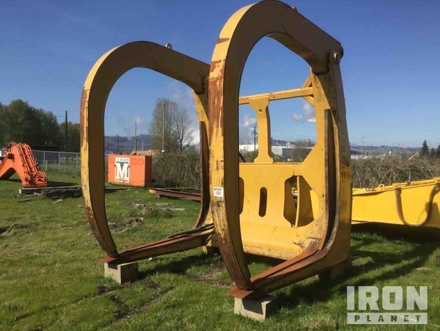 Cat Wheel Loader Log Forks - Fits Cat 988K, Wheel Loader Forks