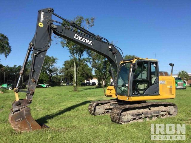 2014 John Deere 130G Track Excavator, Hydraulic Excavator