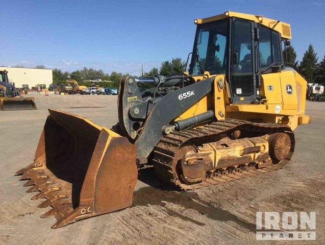 2013 John Deere 655K Crawler Loader, Crawler Loader