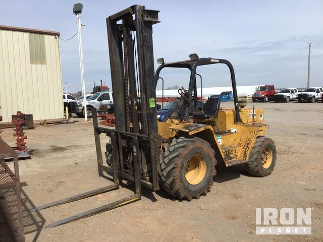 CAT R80 Rough Terrain Forklift, Rough Terrain Forklift