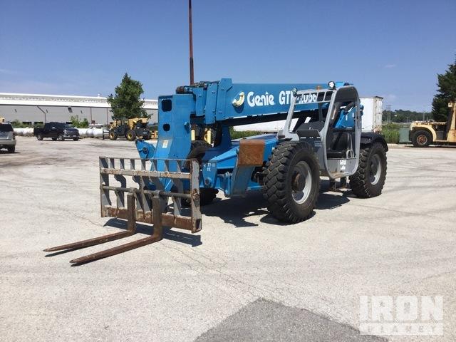 2012 Genie GTH1056 4x4 10000 lb Telehandler, Telescopic Forklift