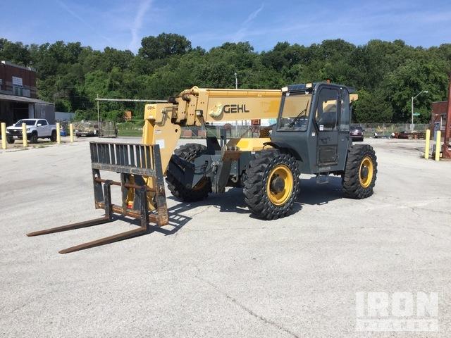 2012 Gehl RS10-55 4x4 10,000 lb Telehandler, Telescopic Forklift