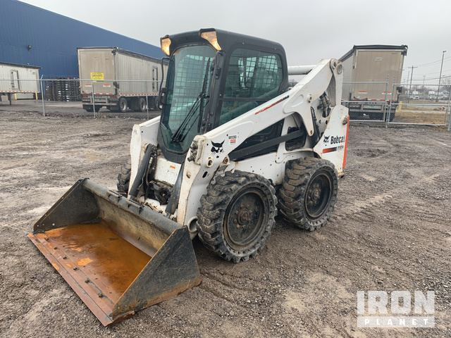 2014 Bobcat S650 Skid-Steer Loader, Skid Steer Loader