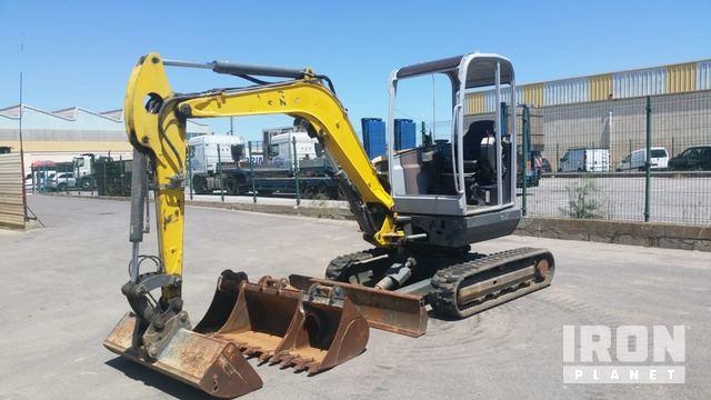 2014 Neuson EZ38 Mini Excavator, Mini Excavator (1 - 4.9 Tons)