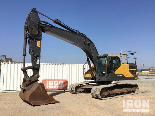 2015 Volvo EC250EL Track Excavator, Hydraulic Excavator