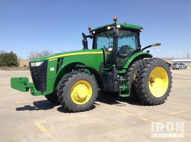 2015 John Deere 8245R 4WD Tractor, MFWD Tractor