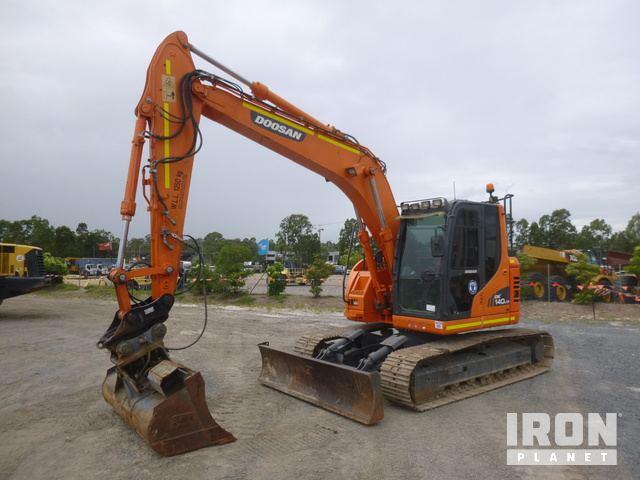 2014 Doosan DX140LCR Hydraulic Excavator, Hydraulic Excavator