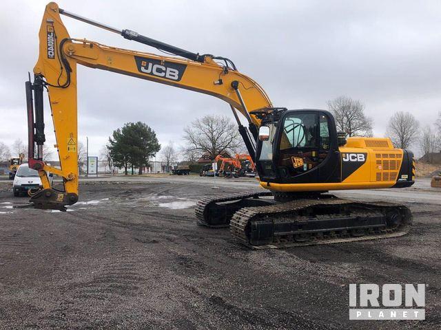 2014 JCB JS240LC Track Excavator, Hydraulic Excavator