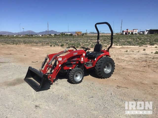TYM T234 4WD Tractor, MFWD Tractor