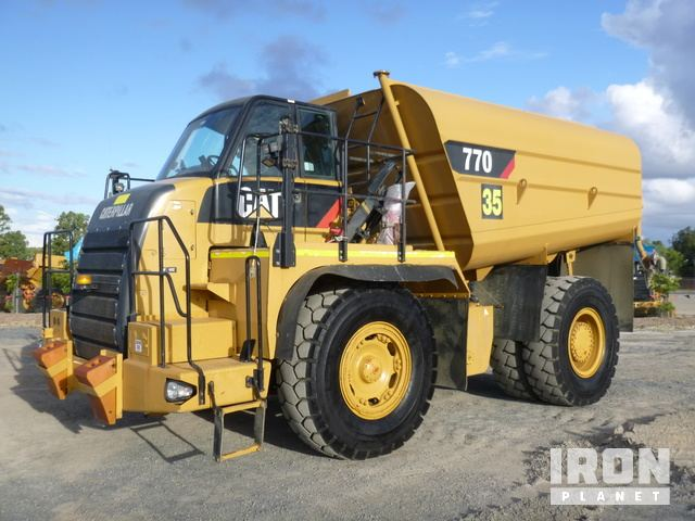 2007 Cat 770 32000 Litre Water Wagon, Rock Truck