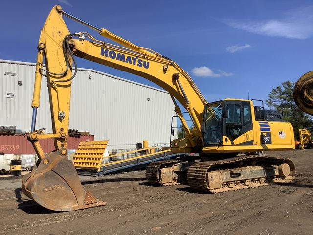2019 Komatsu PC360LC-11 Track Excavator, Hydraulic Excavator