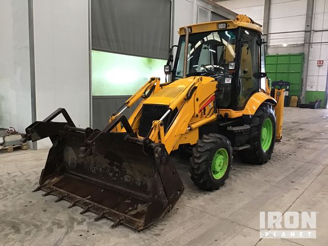 2007 JCB 3CX Backhoe Loader, Loader Backhoe