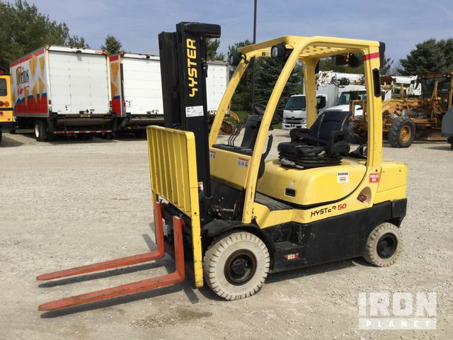 2015 Hyster H50CT Pneumatic Tire Forklift, Forklift