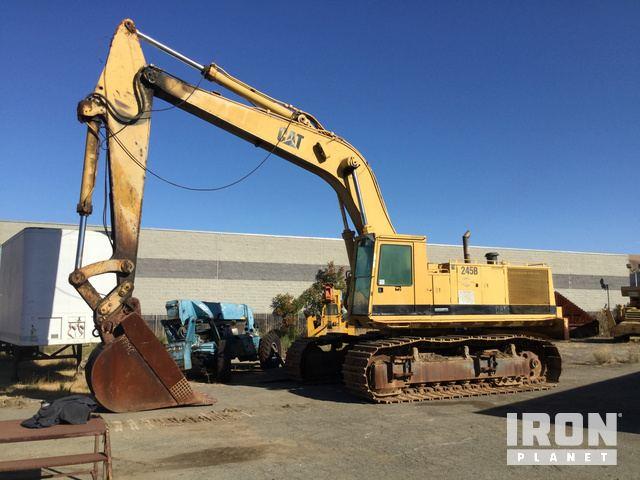 Cat 245B Track Excavator, Hydraulic Excavator