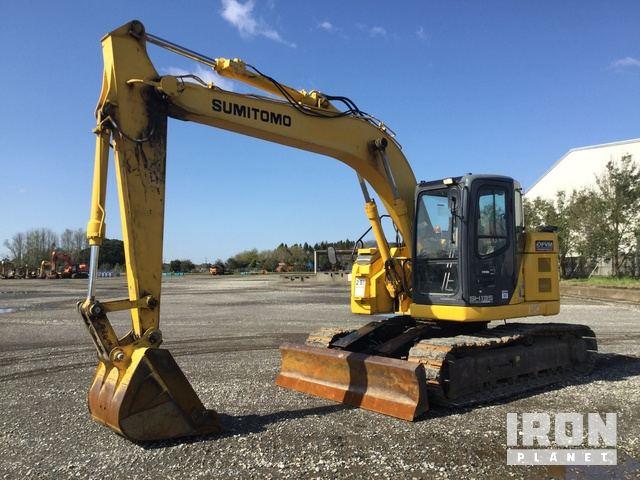 2013 年 Sumitomo SH135X-3B Track Excavator, Hydraulic Excavator
