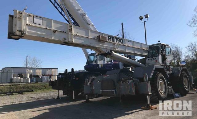 1997 (unverified) Terex RT190 Rough Terrain Crane, Rough Terrain Crane