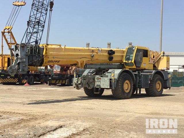 Grove RT890E-4 Rough Terrain Crane, Rough Terrain Crane
